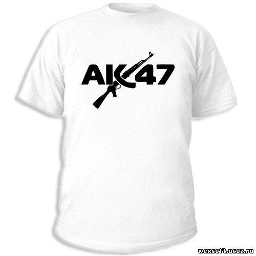 Купить футболку Ак-47 в Украине - вы можете заказать любые модели ... и...